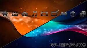 themes com ps3 themes multicolor multi animated theme