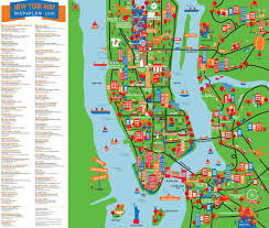 Map Of New York New Jersey by Map New York Map Free Map Of New York City Attractions New Zone