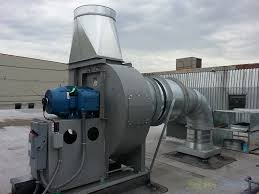 fire rated exhaust fan enclosures industrial ventilation systems air pollution control air quality