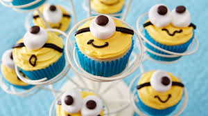 minion cupcakes recipe bettycrocker com