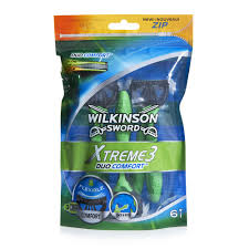 wilkinson sword xtreme 3 razor duo 6 pack at wilko com