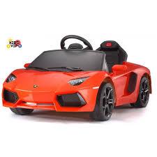 orange and black lamborghini licensed sport lamborghini aventador rc ride on car for