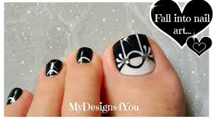 black u0026 white toenail art design monochrome pedicure youtube
