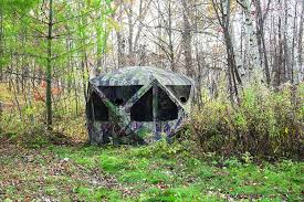 amazon com barronett blinds pentagon hunting blind sports