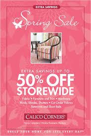 calico corners spring sale mad4marketing
