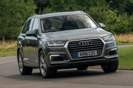 audi a7 suv audi q7 e in hybrid suv 2016 review auto express