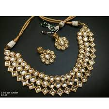 necklace jewellery set images Golden necklace jewelry set latest at rs 2200 set golden jpg