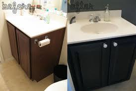 black bathroom cabinet ideas the best vanity painting a bathroom cabinet black ideas at image for