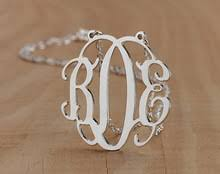 3 Initial Monogram Necklace Sterling Silver Compare Prices On Initial Monogram Necklace Online Shopping Buy
