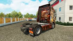 volvo trucks jobs steampunk skin for volvo truck for euro truck simulator 2