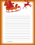 free printable writing paper to santa free christmas stationary free christmas stationery free printable