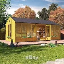Garden Summer Houses Corner - ultimate traditional design corner summer house outdoor garden