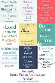 25 bible verses kids ideas children