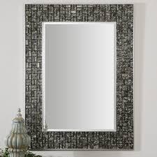 Mosaic Bathroom Mirror 30 Ideas Of Mosaic Tile Framed Bathroom Mirrors