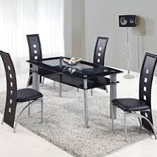 Black And White Dining Room Chairs Silver Kitchen U0026 Dining Tables You U0027ll Love Wayfair