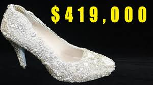 most expensive shoes world u0027s most expensive diamond shoes youtube