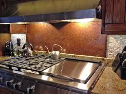 Copper Backsplash Kitchen Backsplash Ideas Interesting Hammered Copper Backsplash Hammered