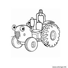 coloriage tracteur dessin à imprimer gratuit