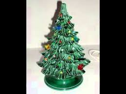 ceramic tree with lights decorations