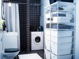 interior basement bathroom laundry room combo with regard to