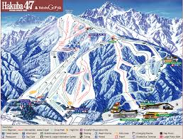 Ski Resorts In Colorado Map by Hakuba Ski Resort Map