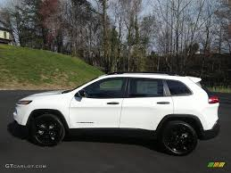 2017 jeep altitude black 2017 bright white jeep cherokee sport altitude 119354811