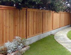 Fence Ideas For Backyard by Privacy Fence Design Ideas Landscaping Network The Great