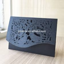 Custom Made Invitation Cards Laser Cut Unique Wedding Invitations Card Philippines Personalize