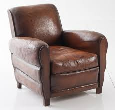 leather club chair for added attraction furnitureanddecors com decor