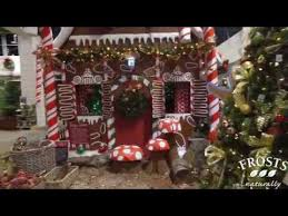 christmas displays at frosts garden centre woburn sands 2016