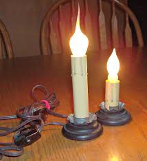 windows electric candle lights for windows designs best 25