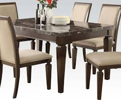 Faux Marble Top Dining Table Dining Tables 5pc Faux Marble Dining Table Set Granite Dining