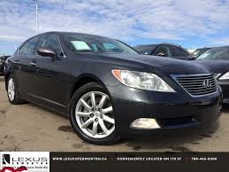 lexus dark blue pre owned dark grey 2009 lexus ls 460 awd in depth review nisku
