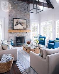 Pictures Of Interiors Of Homes Interior Modern Stone Fireplace Tall Great Room Design Ideas