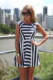 navy u0026 white stripes dress dresses tops bottoms jackets