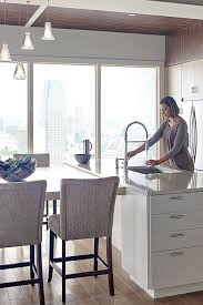 Well Designed Kitchens Cooking And Living Are Made Easier In A Moen Kitchen Our