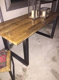 lustre bureau table ou bureau de fabrication artisanale style industriel