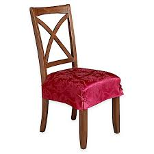 dining chair seat cover dining room chair covers slipcovers seat covers bed bath beyond