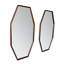 studio twenty two mirror oblong octagonal mid century modern