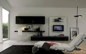 living room elegant lounge chair black desk white acrylic chair