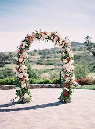 romantic hillside wedding in san clemente san clemente ceremony