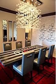 Lighting For Dining Room Siljoy Rectangular Modern Bubble Glass Chandelier Lighting For