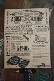 cool wedding programs 110 best italy wedding stationary ideas images on