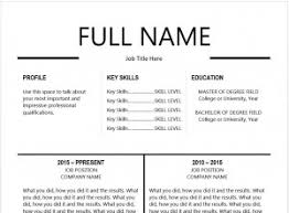 Resume Templates Best by The 10 Best Resume Templates You U0027ll Want To Download Classy