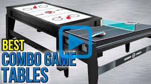 Best Air Hockey Table by Top 7 Combo Game Tables Of 2017 Video Review