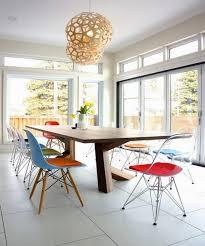 10 splendid dining room settings with eiffel chairs rilane
