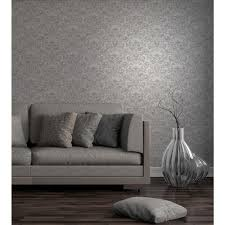 wentworth truck 56 4 sq ft wentworth grey damask wallpaper 2900 41703 the home