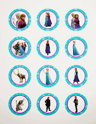 printable frozen images frozen free printable toppers oh my fiesta in english