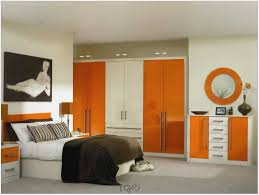 apartment cool mens bedroom studio apartment design with orange