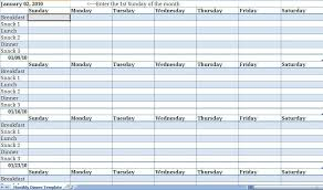 planning calendar templates monthly planner template free